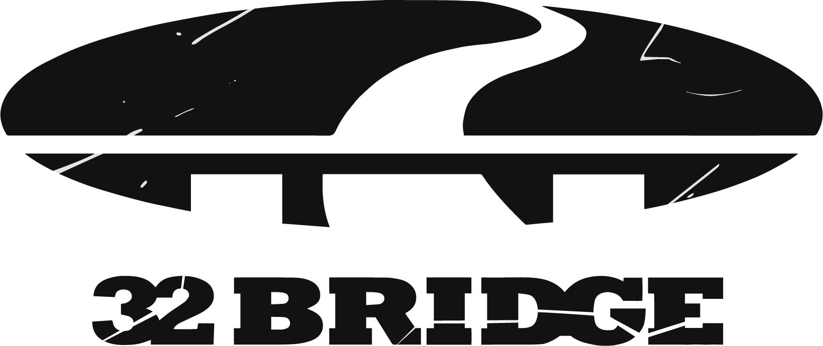 32 Bridge Symbol near Black textured